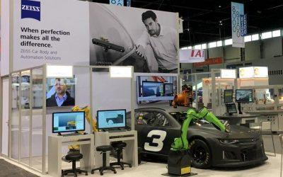 i-Robot showcased on ZEISS booth at Automate Show 2019